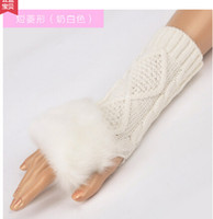Wholesale Ms card lonvy gloves female cute winter gloves han edition set winter warm arms wool gloves
