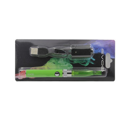 Evod H2 Starter Kit Ecig Colorful EGO Thread Huge Vapor H2 Atomizer Evod Battery 650mah 900mah Electronic Cigarette Kit KZ018
