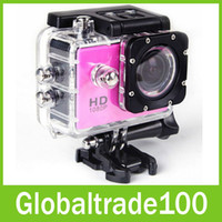 Wholesale SJ4000 Waterproof Sport DV HD Camera Car DVR Camcorder Gopro Style P fps MP H Inch LCD Free DHL Shipping