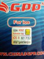 Wholesale IOS iPhone S Genuine GPP F981 chip Sim Unlock iphone4s ios Sprint Verizon T mobile