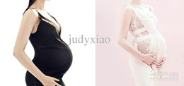 Wholesale New Style Silicone Artificial Baby Tummy Pregnant Belly Fake Pregnancy with speacial coth Bag