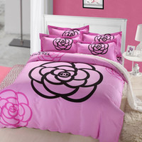 Wholesale NEW Cotton Bed Sheet Set Pillow Cases Quilt king size high quality