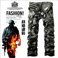 cargo pants for men - Overall Pants for Men New Men s Fashion Army Gray Cargo Pants Military Camouflage Pants For Battle Man