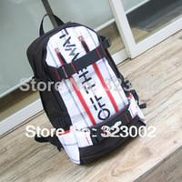 Wholesale Fashion student school bag Skateboard Backpack travel backpack bag skateboard Sport large bag