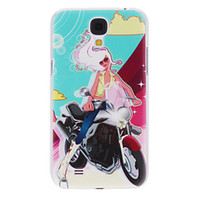 Wholesale Motorcycle Girl Pattern Hard Case For Samsung Galaxy Note N7100