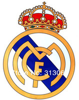 badge graphics - Giant Size Real Madrid Football Club Badge Wall Sticker giant size decals