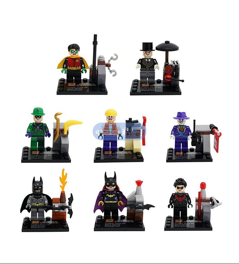 Super Heroes Batman Building