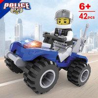 buggy dune buggy - educational toys series of building blocks toy city police motorcycle police dune buggy With Lego0