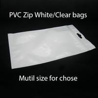 Wholesale Zip PVC bags Zipper Retail package bags for cell phone mobile phone accessories Chargers battery case earphone Jewelry bags