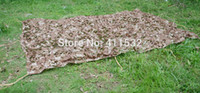 Wholesale 4x3m Car Drop netting Hunting Camping Military Camouflage Net jungle camouflage net NE