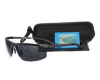 aviation pilots - 1pcs Mens Aluminum Magnesium Aviation Alloy Polarized Sunglasses Glasses Eyewear For Driver Fishing Rubber Noses UV400 Gunmetal Grey