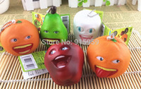 Wholesale cm Fruit doll squishy original package Cell Phone Bag Charm Squishies Buns cute