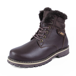 New leather winter boots warm cotton men's outdoor Martin boots large size shoes 46,47,48,49,50 yards trade