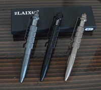 personal security - Whole sale T6 Aluminum Military Tactical Pen Personal Security Multi Tooll