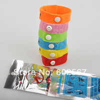 Wholesale Lock on bugs Super Quality Top quaity genuine Camping lock on bugs Mosquito wrist band midge bracelet Mosquito Repellent Band