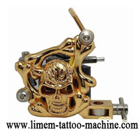 Wholesale Casting Hard Six Dots Wraps Coils Tattoo Liner Shader Machine Gun Supplies