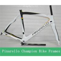 Wholesale 2013 Tour de France Champion Bike Frame Set Carbon Fiber Road Bicycle Frames T800 K Carbon Bike Parts Size Big Size Frameset