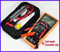 ac thermometer - NEW VC99 Auto range digital multimeter with Bag DMM AC DC thermometer