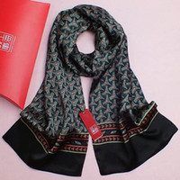 Wholesale 2014 HOT SELLING SCARF FOR MEN CHINESE SILK SCARVES SHAWL WRAP CM BRAND DESIGN SCARF MALE