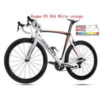 Wholesale F8 Black Yellow Fluo carbon road bike frames Carbon fiber bicycle frame T1000 K available color bob