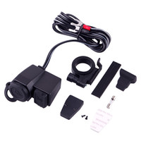 Wholesale car Motorcycle Scooter V USB Waterproof Cigarette Lighter Power Port Outlet Socket dandys
