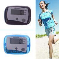 Wholesale New Hot Mini LCD Run Walk Pedometer Kilometer Mile Distance Calorie Counter dandys