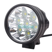 Wholesale New Portable LM x Cree XM L T6 MTB Bike Bicycle Cycling Head Light Headlamp dandys