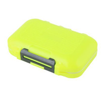 tackle box fishing - Orange Compartments Fishing Lure Spoon Hook Tackle Box Case Waterproof dandys