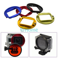 Wholesale 58mm UV Lens Filter Adapter Ring For GoPro Hero HD Camera Rig Cage Hot Sell dandys
