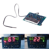 Wholesale New Hot DC V V Intelligent Digital LED Thermostat Temperature Controller dandys