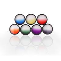 lens optical - Hot Sale Optical Netural Grad Gradual ND Grads Filter For Camera Lens mm Colors dandys
