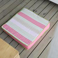 Wholesale Kat House Coral Korean garden fat pad washable thick tatami futon cushion