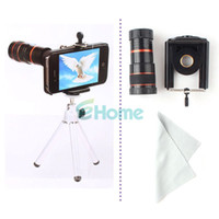 Spotting Scopes   Universal 8x Zoom Optical Lens Mobile Telescope For Camera Mobile Phone New #55279, dandys