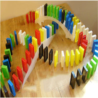 Wholesale 200 Funny Colorful Plastic Authentic Standard Children Kids Domino Game Toy dandys