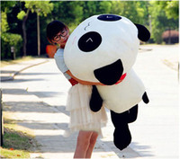 Wholesale 70CM Cute Panda Pillow Soft Plush Toy Stuffed Smiling Lying Animal High Quality dandys