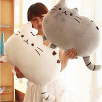 Wholesale Cute Big Cat Shape Pillow Cushion Soft Plush Toy Doll Home Sofa Decoration Decor dandys