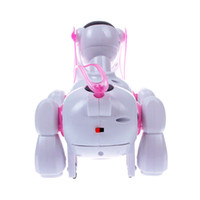 battery operated dog - Hot Sale Cool Robotic Cute Electronic Walking Pet Dog Puppy Cute Kid Toy Gift Music Light dandys
