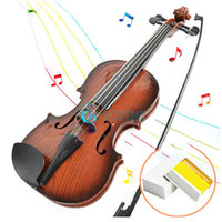 Wholesale Children Kids Beginners Instrument Adjust String Simulation Violin Musical Toy dandys