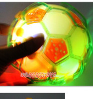 soccer ball lots - Crazy Football Soccer Colorful Bounce Bouncing Dancing Flashing Jumping Music Ball Kids Baby Child LED Light Up Toy