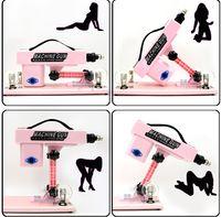 Wholesale New Sex machine female masturbation machine Sex Furniture automatic retractable penis sex doll