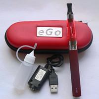 Cheap CE4 eGo Starter Kit E-Cig E Cigarette eGo Zipper Case package Single Kit 650mah 900mah 1100mah CE4 Atomizer Colorful Mix Order DHL Free