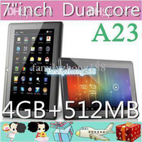 epad - DHL A23 Cheap Q88 quot PRO Dual Core Epad Tablet PC Android MB GB NEW
