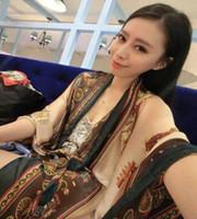 Wholesale 2014 Long Fashion Scarf Carriage Brand Pashmina Ladies Scarves Wrap Designer cachecol feminino bufanda CM