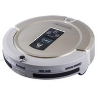 Wholesale AmTidy A325 Multifunction Intelligent Home Robot Mini Vacuum Cleaner with Sweep Vacuum Mop Sterilize LCD Touch Screen