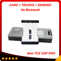 Cheap No bluetooth 2014 New designed tcs cdp pro plus wth led Multi-language 2013.3 version for car&truck + Plactis box Free shiping