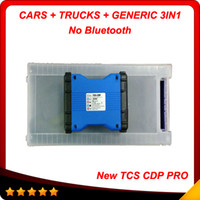 Cheap No bluetooth 2014 New designed tcs cdp pro plus 3in1 wth led Multi-language 2013.3 version + Plactis box Free shiping
