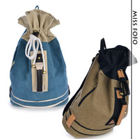 Wholesale 2014 new Canvas Backpacks outdoor mountain travel bag washed canvas bag Men Women girl s School bag good guality