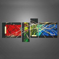 Cheap More Panel abstract oil painting Best Oil Painting Abstract canvas oil painting
