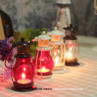 Wholesale Vintage fashion lantern tieyi mousse home accessories new house decoration wedding supplies photography props decoration