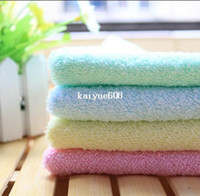 Wholesale 100 bamboo fiber cosmetology Cleaning TOWEL Soft Microfiber super absorbent for spa hotel outdoor sport Toweling Handkerchief